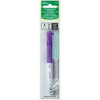 Air-Erasable Marker W/Eraser-Purple - Purple