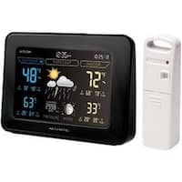Chaney Instruments 02027A1 Color Weather Station W/Temperature/Humidity/Weather Forecaster