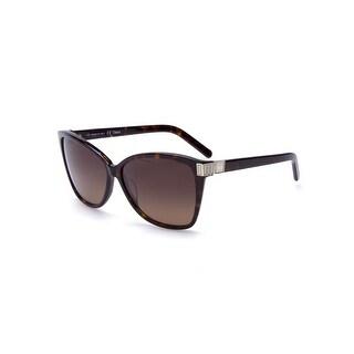 Chloe Women's Cat Eye Gradient Sunglasses Tortoise - Small