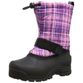 Northside Girls Frosty Faux Fur Lined Snow Boots
