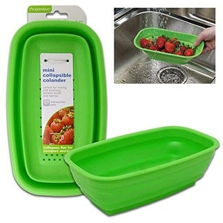 Progressive PrepSolution Mini Collapsible Colander, Green