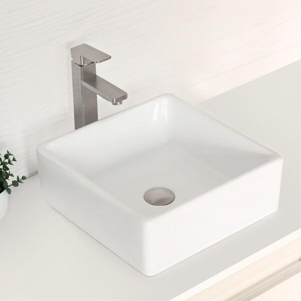 Single Hole Single-Handle Vessel Bathroom Faucet. Opens flyout.