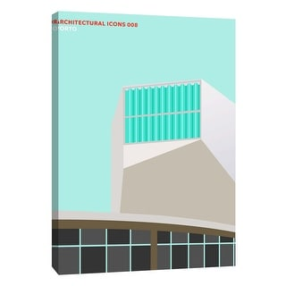 "PTM Images 9-105817  PTM Canvas Collection 10"" x 8"" - ""Architectural Icons 8"" Giclee Architecture Art Print on Canvas"