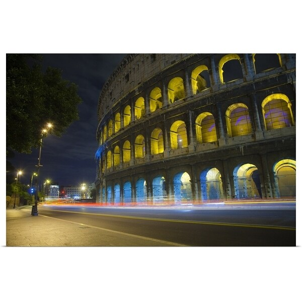 """""""The Colosseum in Rome"""" Poster Print"""