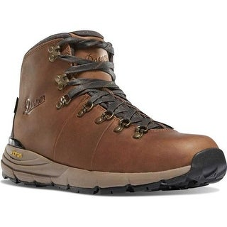 "Danner Men's Mountain 600 4.5"" Hiking Boot Rich Brown Full Grain Leather"