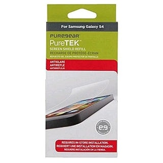 PureGear PureTek Roll On Screen Protector for Samsung Galaxy S4 - Anti-Glare