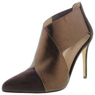 Nine West Womens Eadda Suede Pointed Toe Pumps