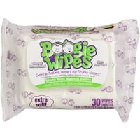 Boogie Wipes Gentle for Stuffy Noses, Simply Unscented 30 Each