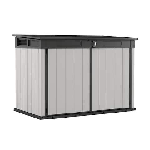 Keter Premier Jumbo Plastic All-Weather Outdoor Storage Shed
