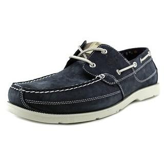 Timberland Earthkeepers Kia Wah Bay Men Moc Toe Leather Blue Boat Shoe