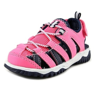 Carter's Christo Toddler Round Toe Synthetic Pink Sport Sandal