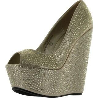 Machi Women's Cecilia-1 Wedge Pumps Shoes