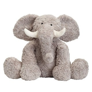 Link to JOON Bobo The Elephant Stuffed Animal, Grey, 15 Inches - grey Similar Items in Stuffed Toys