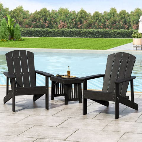Culver Outdoor Adirondack Chairs (Set of 2) by Christopher Knight Home