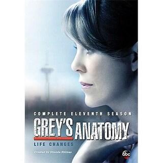 GREYS ANATOMY-11TH SEASON (DVD/6 DISC)