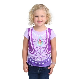 Girls Shimmer And Shine Toddler Shimmer Costume Tee