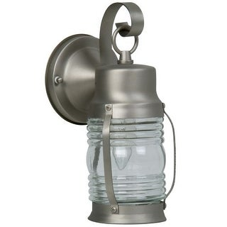 Craftmade Z112 Nautical 1 Light Outdoor Wall Sconce - 4.4 Inches Wide