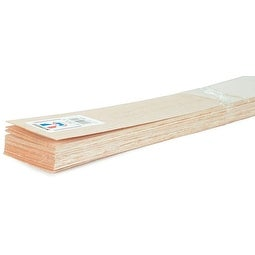 """Balsa Wood Sheet 36""""-3/16""""X6"""""""