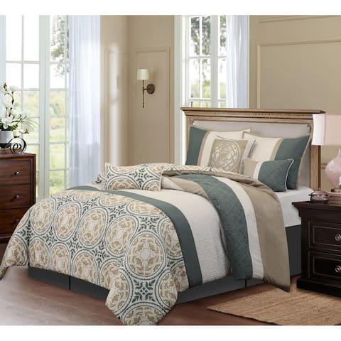 Grand Avenue Daffodil 7-piece Comforter Set