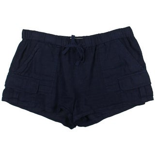 Joie Womens Shorts Sheer Flat Front