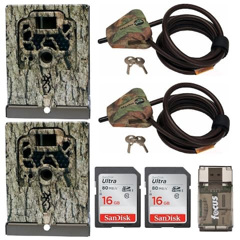 Browning Trail Cameras Security Box (2-Pack) Bundle - Camouflage