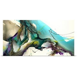 Jonas Gerard Poster Print entitled Trust The Flow (5 options available)
