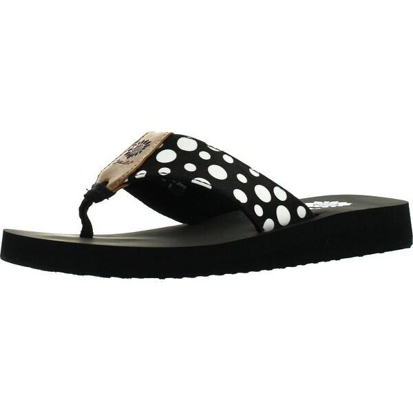 Yellow Box Womens Tizzy Flip Flop Sandals