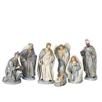 "7 Piece Set of 12"" Nativity Versaille Colorway"