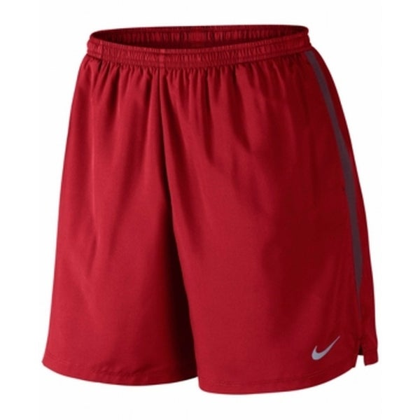 27466f4d7d520 Shop Nike NEW Red Mens Size 2XL Drawstring Pull-On Stretch Logo-Front Shorts  - Free Shipping On Orders Over $45 - Overstock - 19423289