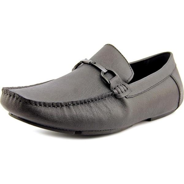 Kenneth Cole Reaction Sound System Men  Moc Toe Leather  Loafer