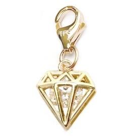 Julieta Jewelry Diamond CZ Clip-On Charm