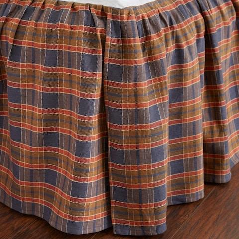 Shone Multicolor Cotton 3 Piece Bed Skirt