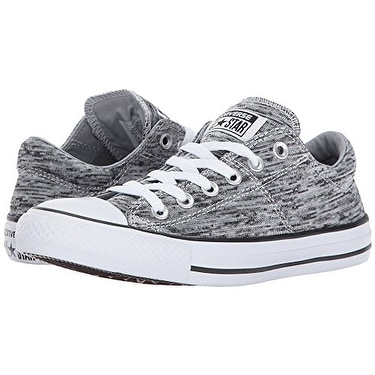 a3b8869880ec Shop Converse Chuck Taylor All Star Madison - Ox Black Wolf Grey Women s  Lace up casual Shoes - Free Shipping Today - Overstock - 18276137