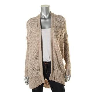 Pure DKNY Womens Alpaca Blend Knit Cardigan Sweater - p/s
