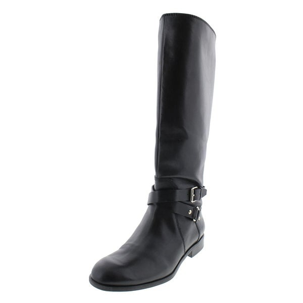 Shop Enzo Angiolini Womens Daniana Riding Boots Leather Knee High ... 7bc7bb06d