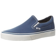 Vans Men's VANS CLASSIC SLIP ON SKATE SHOES 4.5 (NAVY)