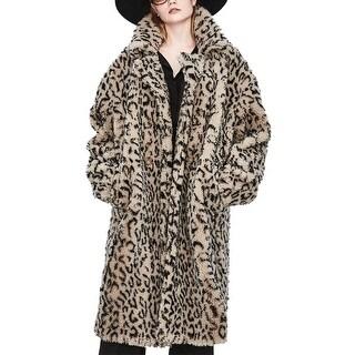 Coatme Faux Fur Car Coat