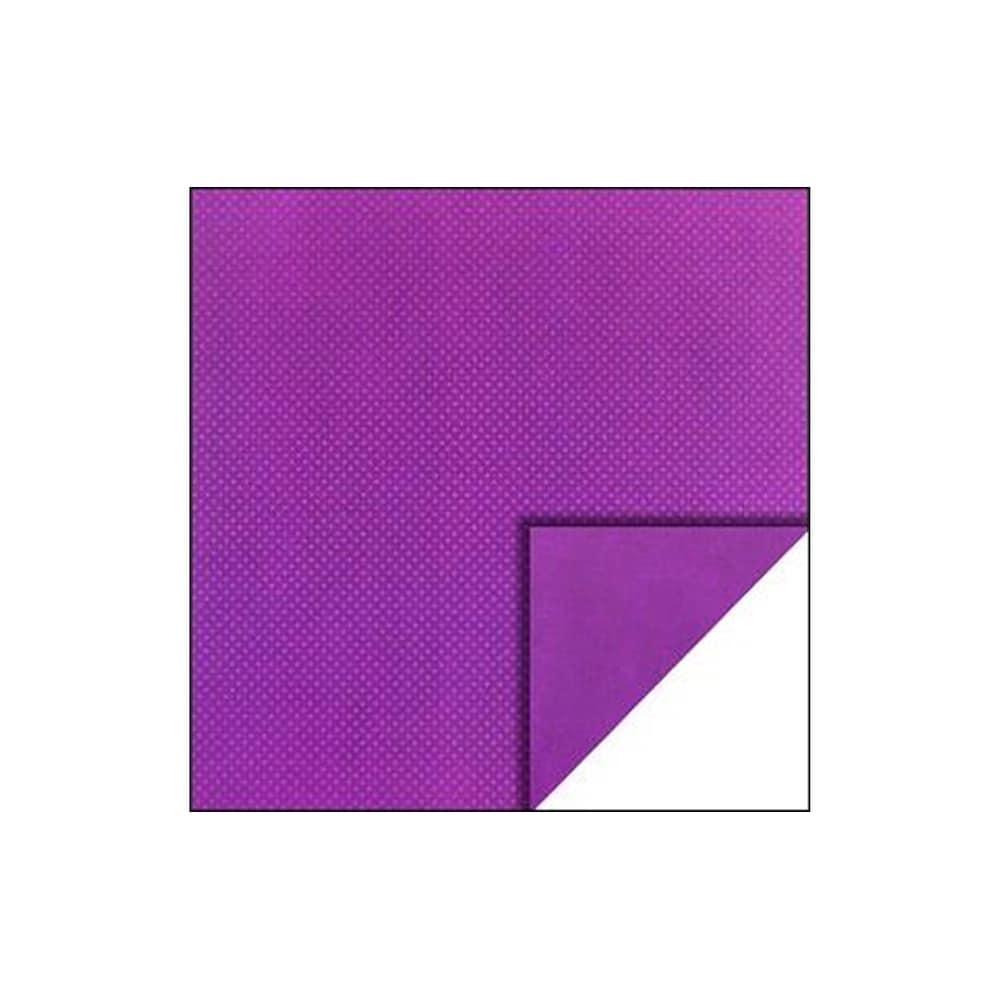Bo Bunny Double Dot Paper 12x12 Grape