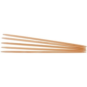 "Double Point Dark Patina Knitting Needles 8"" 5/Pkg-Size 9/5. - size 9/5.5mm"