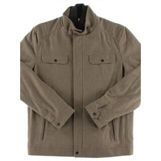 MICHAEL Michael Kors Mens Big & Tall Coat Wool Attached Bib - xlt