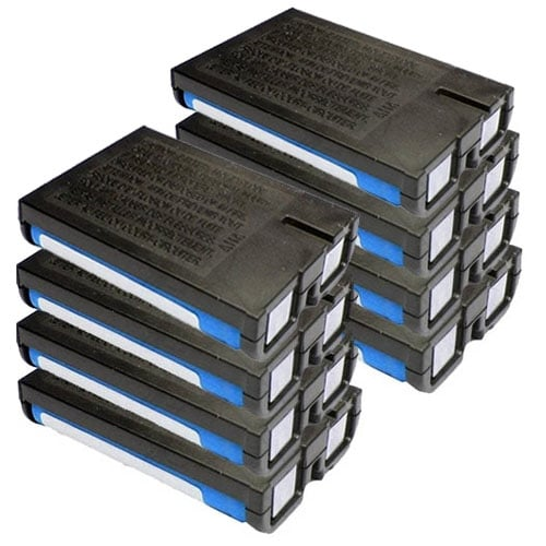 Replacement Panasonic HHR-P107 NiMH Cordless Phone Battery (8 Pack)