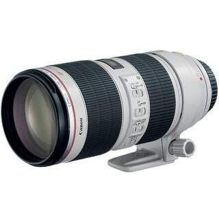 Canon 70-200mm Lens f/2.8L IS II USM EF Telephoto Zoom Lens - WHITE