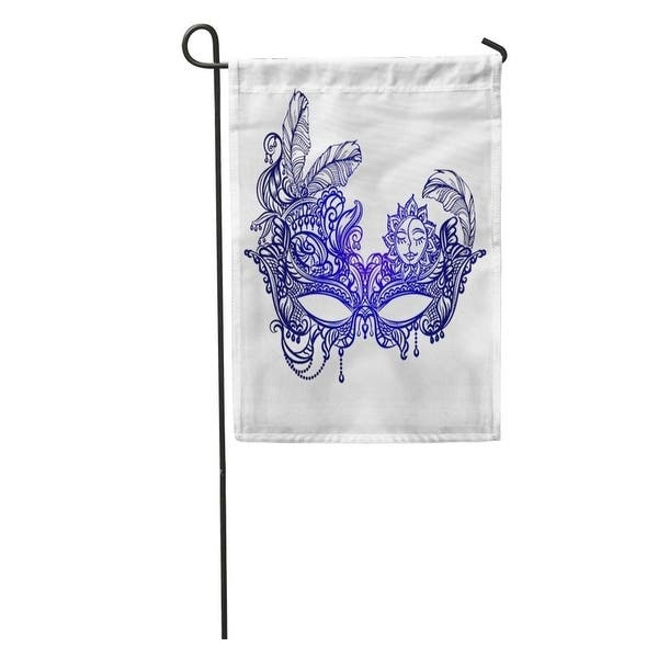 Orleans Face Masks In The Of Boho Chic Festival Mardi Gras Masquerade Lace Garden Flag Decorative Flag House Banner On Sale Overstock 31742501
