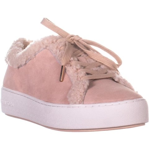 003a5ed10d5 MICHAEL Michael Kors Poppy Lace Up Platform Sneakers, Soft Pink Suede - 10  US /