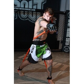 Stroops MMA Python Striker Slastix Training System with Medium Belt - Heavy