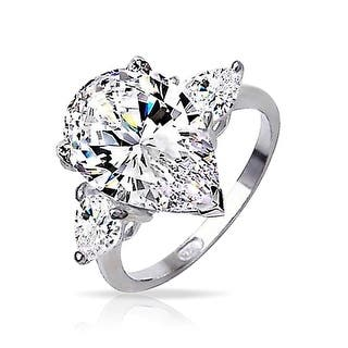 Bling Jewelry Sterling Silver Classic 3 Stone Pear CZ Engagement Ring (Option: 13)|https://ak1.ostkcdn.com/images/products/is/images/direct/f2ffca3a4e167e377f8dd2ca6ea4105405a4340f/Bling-Jewelry-Sterling-Silver-Classic-3-Stone-Pear-CZ-Engagement-Ring.jpg?impolicy=medium