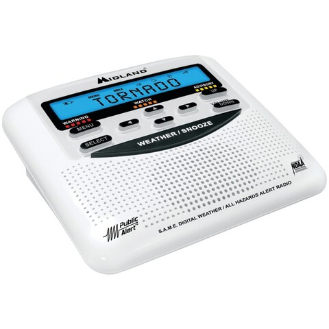 Midland(R) - Wr120c - All Hazards Alert Radio