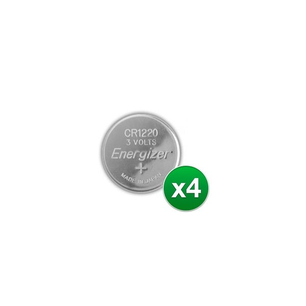 Replacement Battery for Energizer CR1220VP 2Pack (4-Pack) Replacement Battery