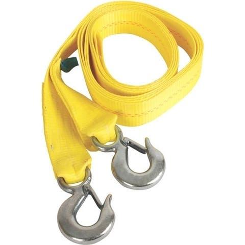 Coleman 2000012640 mad dog gear atv/utv 15' tow strap w/ 2 heavy duty hooks