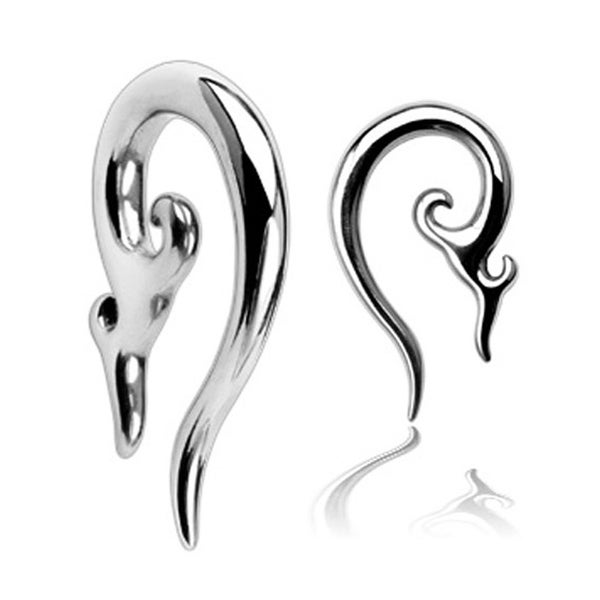 Surgical Steel Tribal Taper (Sold Individually)